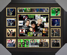 Green Day Signed Framed Limited Edition Memorabilia V1