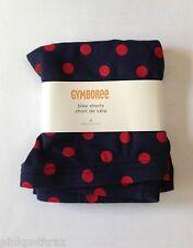 NWT Gymboree Homecoming Kitty Girls Navy Blue & Red Polka Dot Bike Shorts 9