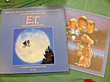 ET The Extra-Terrestrial Soundtrack Album Narrated By Michael Jackson