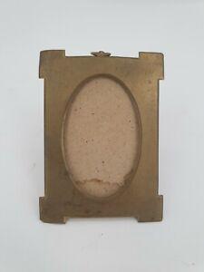 Ancien porte photo en laiton, époque fin XIX ème s