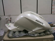 58611861AW DUCATI  WHITE FUEL TANK GAS TANK NEW OLD STOCK 2010 STREETFIGHTER