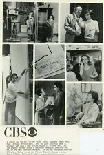 CAST AND CREW ON THE SET OF AS THE WORLD TURNS ORIGINAL 1981 CBS TV PHOTO