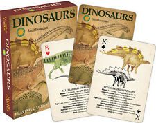 Smithsonian - Dinosaurs Playing Cards Deck Brand New Sealed