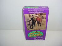 The Devils Playground Hopalong Cassidy William Boyd VHS Video Tape Movie Vol 4