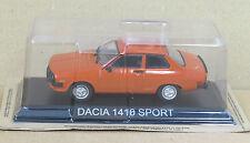 "DIE CAST "" DACIA 1410 SPORT "" LEGENDARY CARS SCALA 1/43"