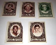 Philadelphia Phillies 1961 TOPPS BASEBALL STAMPS Major League Stars Cond:G Lot 5