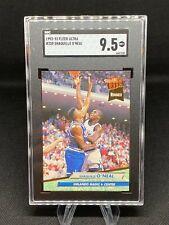 New listing 1992-93 Fleer Ultra, Shaquille O'Neal ROOKIE #328 SGC MINT+ 9.5! Orlando Magic