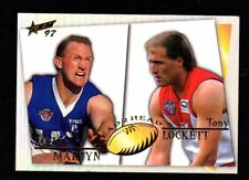 1997 Select AFL Head 2 Head Michael Martyn & Tony Lockett H2H6