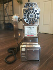 Crosley Replica 1950's Pay Phone Brushed Chrome CR56-BC