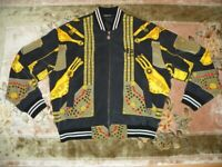 VERSACE Couture - Bomber Jacke Jacket - Vintage - Rare/Selten - 1990 - Gianni