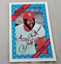 1972 Kellog's #026 Bob Gibson Cardinals NM VINTAGE