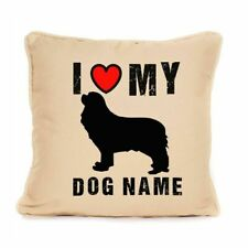 More details for gift for dog cavalier king charles spaniel cushion personalised present
