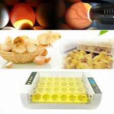 24 Egg Automatic Egg Incubator Turner Digital Chicken Poultry Incubator Hatcher