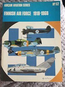 ARCO-AIRCAM AVIATION SERIES NO.14  FINNISH AIR FORCE 1918-1968   AIRCRAFT