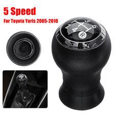 5 Speed Gear Shift Shifter Knob For Toyota Yaris 2005 - 2010 Manual Transmission