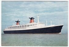 Liner SS France, French Line PPC, Unposted, By Dixons, c 1960's