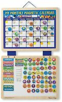 Melissa and Doug Monthly Magnetic Calendar - 13788 - NEW!