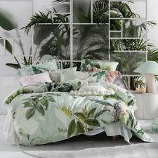 Linen House Australia GLASSHOUSE Botanical Print Kingsize Duvet Cover Set