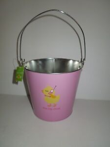 HALLMARK 3 Pack  CLEAR BASKET BAG Ribbon+Tag HAPPY EASTER Carrot /&  Dot