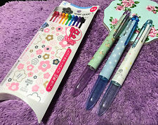 3x Earth HI-TEC-C Coleto Pen + 10 Refill Flower Mary Quant SPECIAL EDITION PILOT