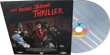 Michael Jackson LaserDisc MAKING OF THRILLER Laser Disc LD Documentary USA 1983