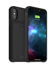Mophie Juice Pack Access Protective Battery Case for iPhone XS / X - Black Qi