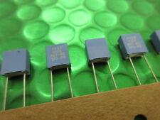 POLYESTER FILM CAPACITOR, 0.1UF 10% 100VDC RADIAL, 100NF, 5mm, 370-85104 *X10*