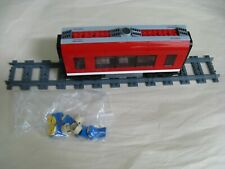Lego CITY TRAIN 7938: Custom MIDDLE PASSENGER CAR...ONLY...Tables & Seats