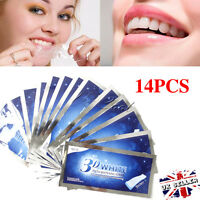 28 Pro Effects Professional 3D Teeth Whitening Strips Enamel Pouches