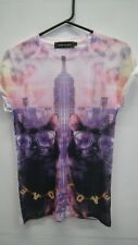 River Island New York Cat T shirt size 6
