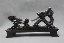 Black Dragon Rack Display Samurai Sword Katana Wakizashi Tanto Holder Stand
