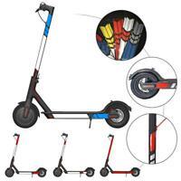 Autocollants réfléchissants en PVC pour scooter électrique Xiaomi M365 FR