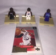 Lego 3564 Nba Collectors Houston Rockets Iverson/Francis/Malone No Box, New Open
