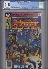 Battlestar Galatica #5 Lost Planet of the Gods CGC 9.8 1979 Marvel: New Frame