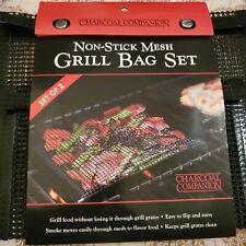 Non-Stick Mesh Grill Bag Set