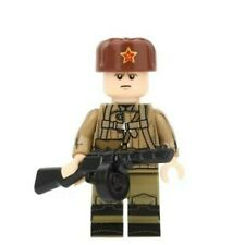 1 x WWII MARINE RUSSE Custom Lego Mini Figures Marine Russe-soldats