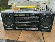 Panasonic Rx-Dt610 Cassette Cd Boomb0X Stereo Ghetto Blaster Vintage - Tested