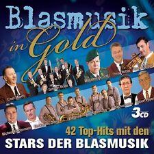 BLASMUSIK IN GOLD 3 CD MIT ERNST MOSCH UVM. NEU