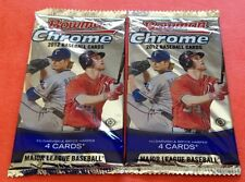 2x 2012 Bowman Chrome HOBBY Pack (Bryce Harper RC Anthony Rendon RefractorAuto)?
