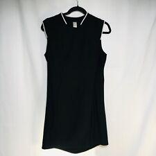 Mondetta Mpg Women Small Black Short Sleeve Active Tennis  Golf Dress