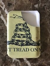 Kydex Tactical Wallet Don't Tread on Me Holds 7 Cards