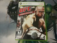 UFC Undisputed George St-Pierre Xbox 360 Microsoft Game + Case + Manual Complete