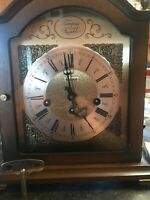 VINTAGE GERMAN BULOVA MANTLE/ DESK/ CLOCK- Made In Germany