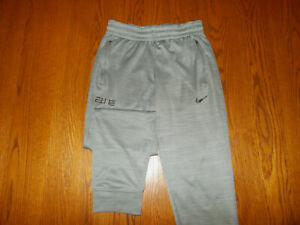 NIKE ELITE DRI-FIT GRAY JOGGER ATHLETIC PANTS MENS SMALL EXCELLENT CONDITION