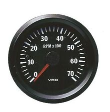 COCKPIT VISION VDO TACHOMETER 0-7000RPM 80mm BRAND NEW