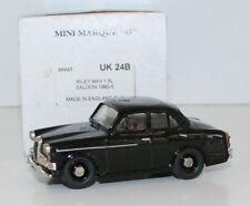 MINIMARQUE 1/43 UK24B - 1960 - 1965 RILEY MKII 1.5L SALOON - BLACK