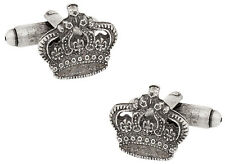 Crown King Cufflinks Direct from Cuff-Daddy