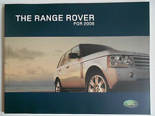 New listing 2006 Land Rover Range Rover Sales Brochure
