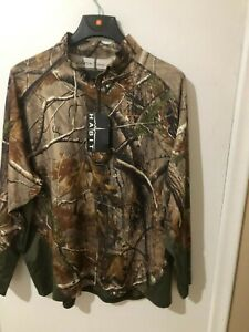 Realtree Scent Factor Long Sleeve Camo Shirt Size 2XL NEW WITH TAGS