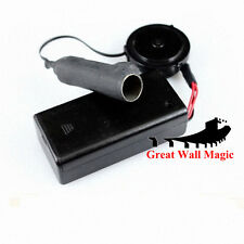 Mini SnowStorm Cannon-Electronic fire ball louncher -- Magic Trick, Fire Magic